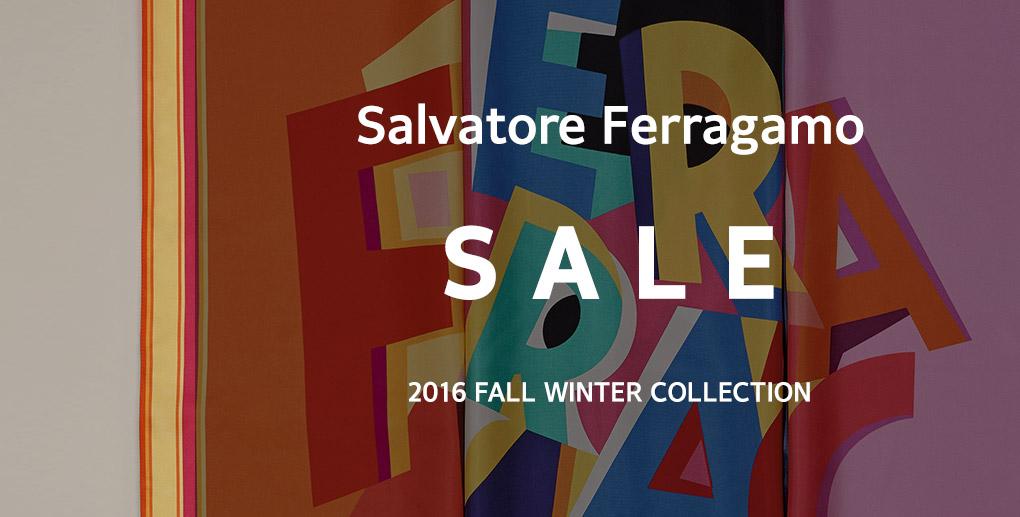 살바토레 페라가모 세일 2016 가을 겨울 컬렉션