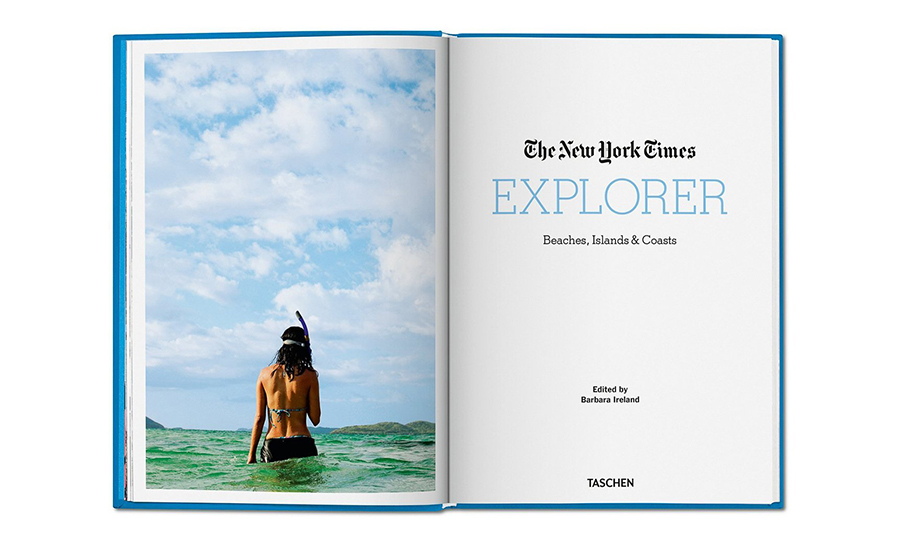 The New York Times Explorer 책 사진