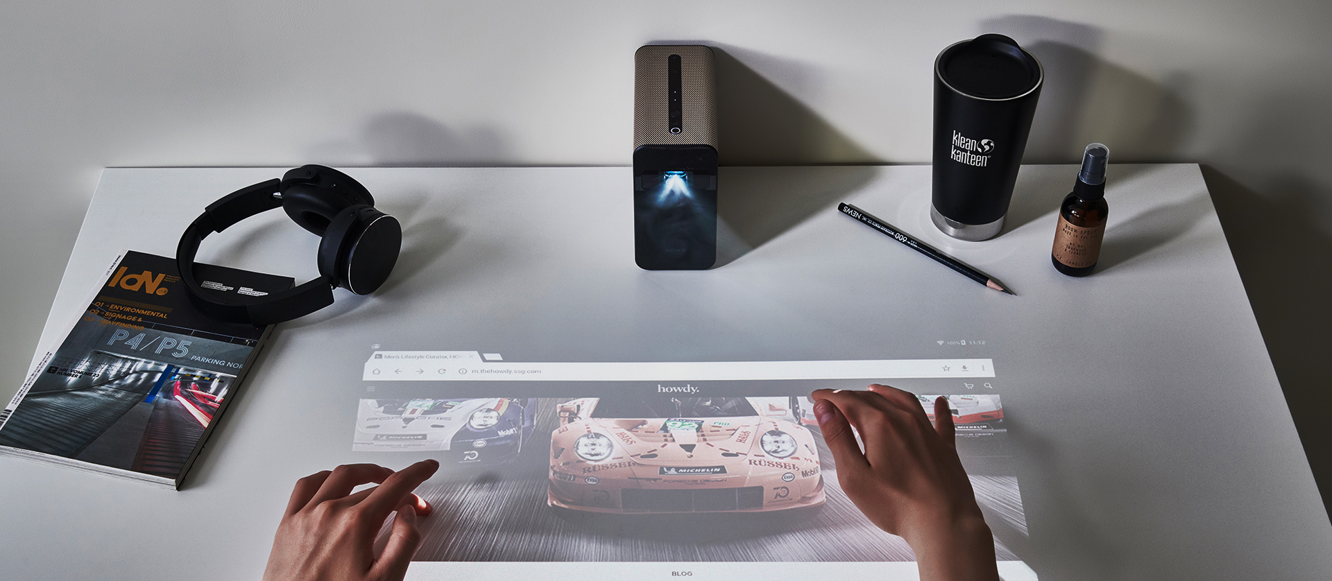 SONY XPERIA TOUCH 리뷰