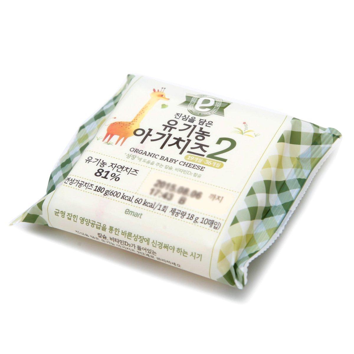 [이마트] 진심을 담은 유기농 아기치즈 2단계 180g