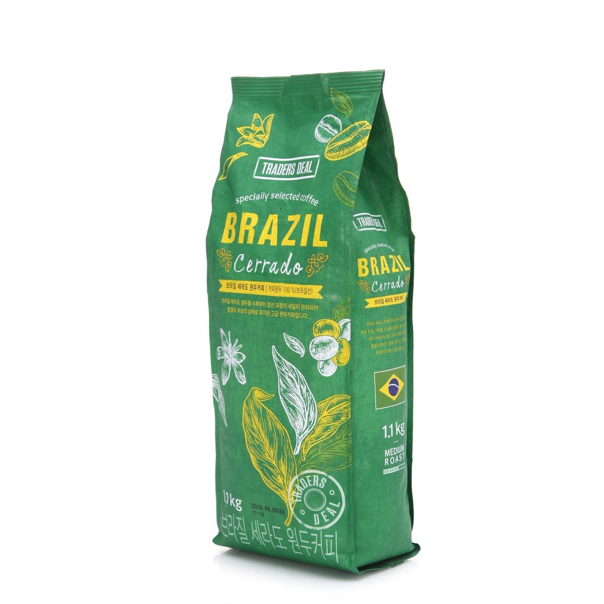 [트레이더스] 브라질 세라도 원두커피 1.1kg