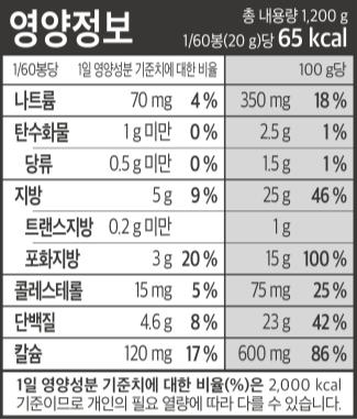 진심1.2 영양