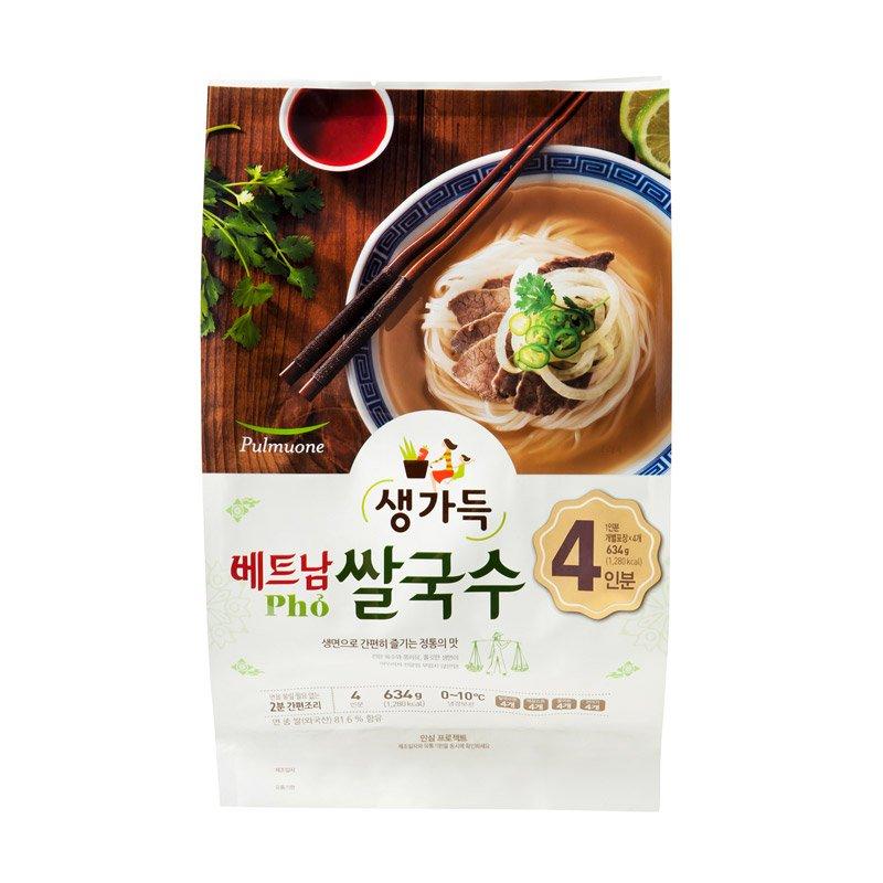 풀무원 베트남쌀국수4인