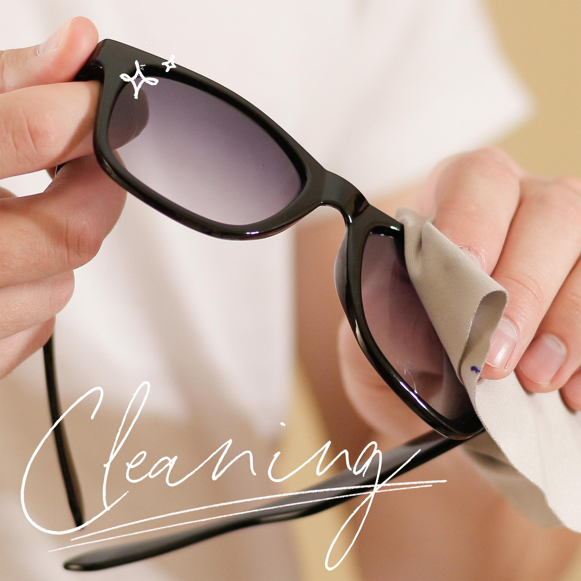 선글라스 깔끔하게 세척하는 법