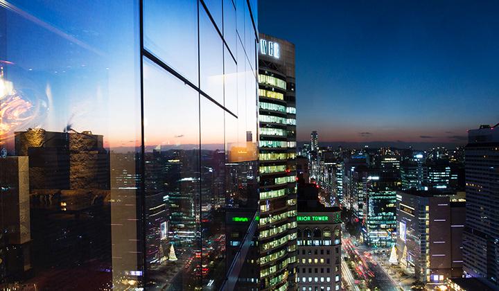 파크 하얏트 서울에서 바라보는 서울의 야경 ©파크 하얏트 서울