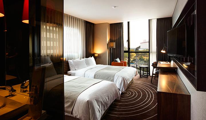 베스트 루이스 해밀턴 호텔 객실 전경 ©베스트루이스 해밀턴