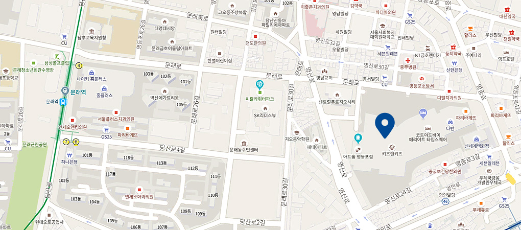 타임스퀘어점 지도