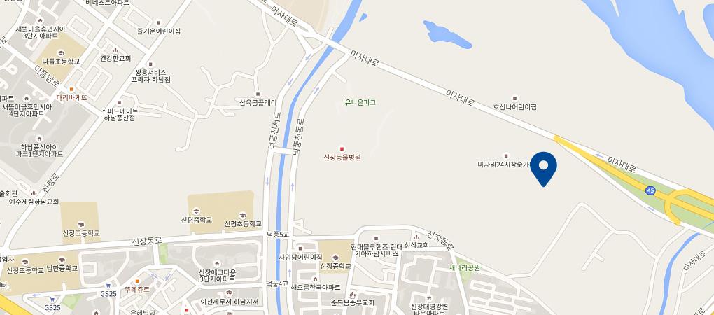 하남점 지도