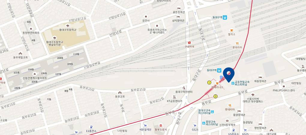 동대구점 지도