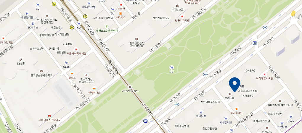 IFC몰점 지도