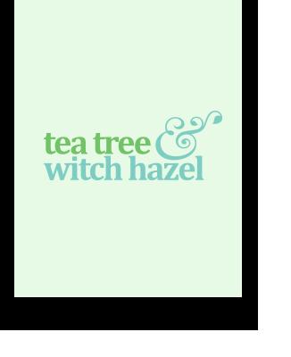 tea tree & witch hazel