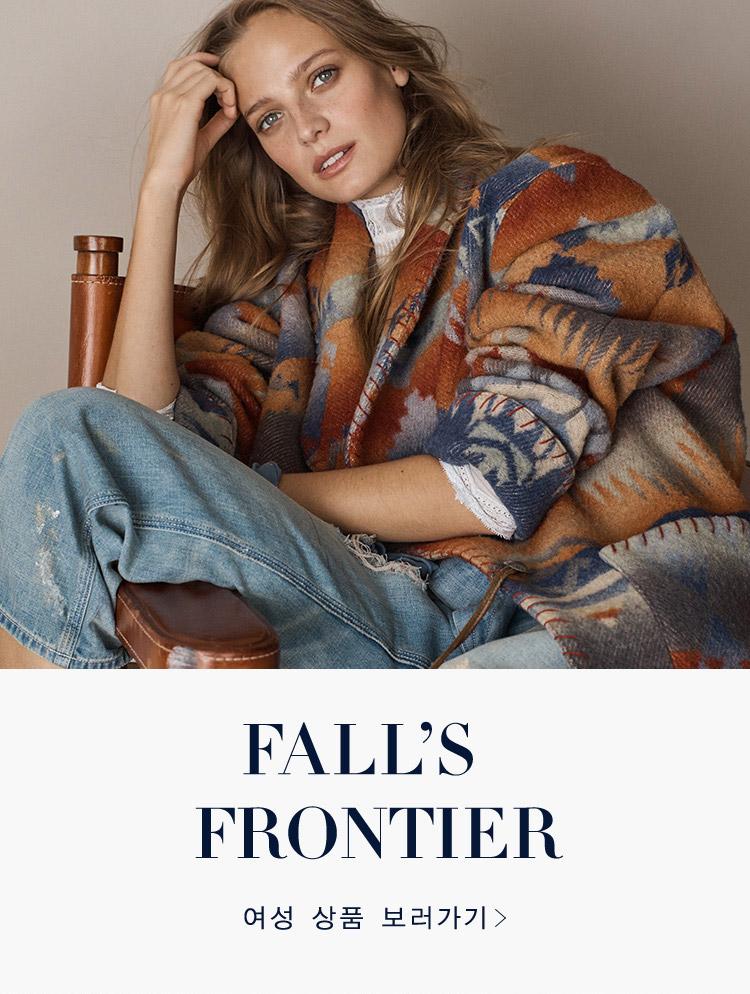 FALL'S FRONTIER 여성 상품 보러가기