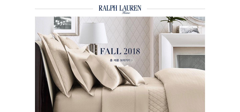 RALPH LAUREN HOME. FALL 2018