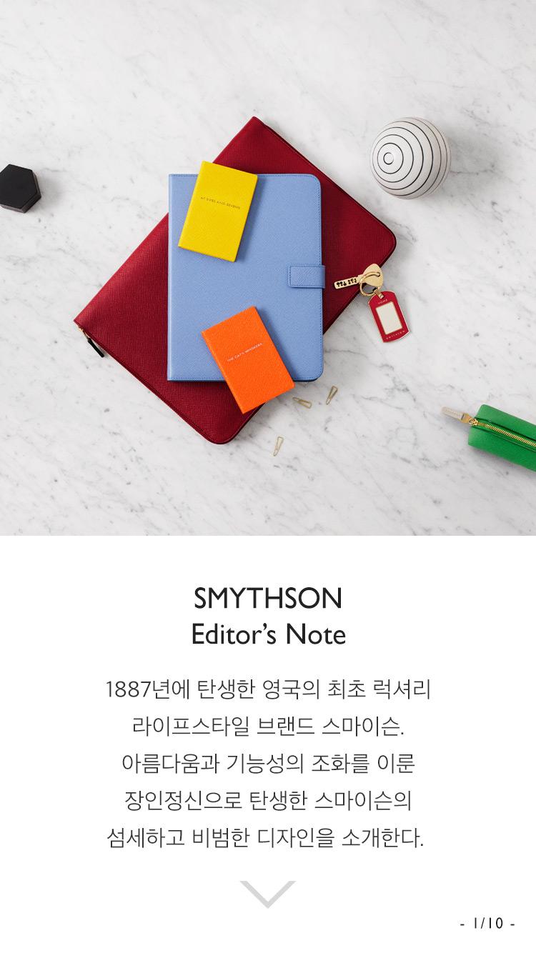 SMYTHSON Editor's Note