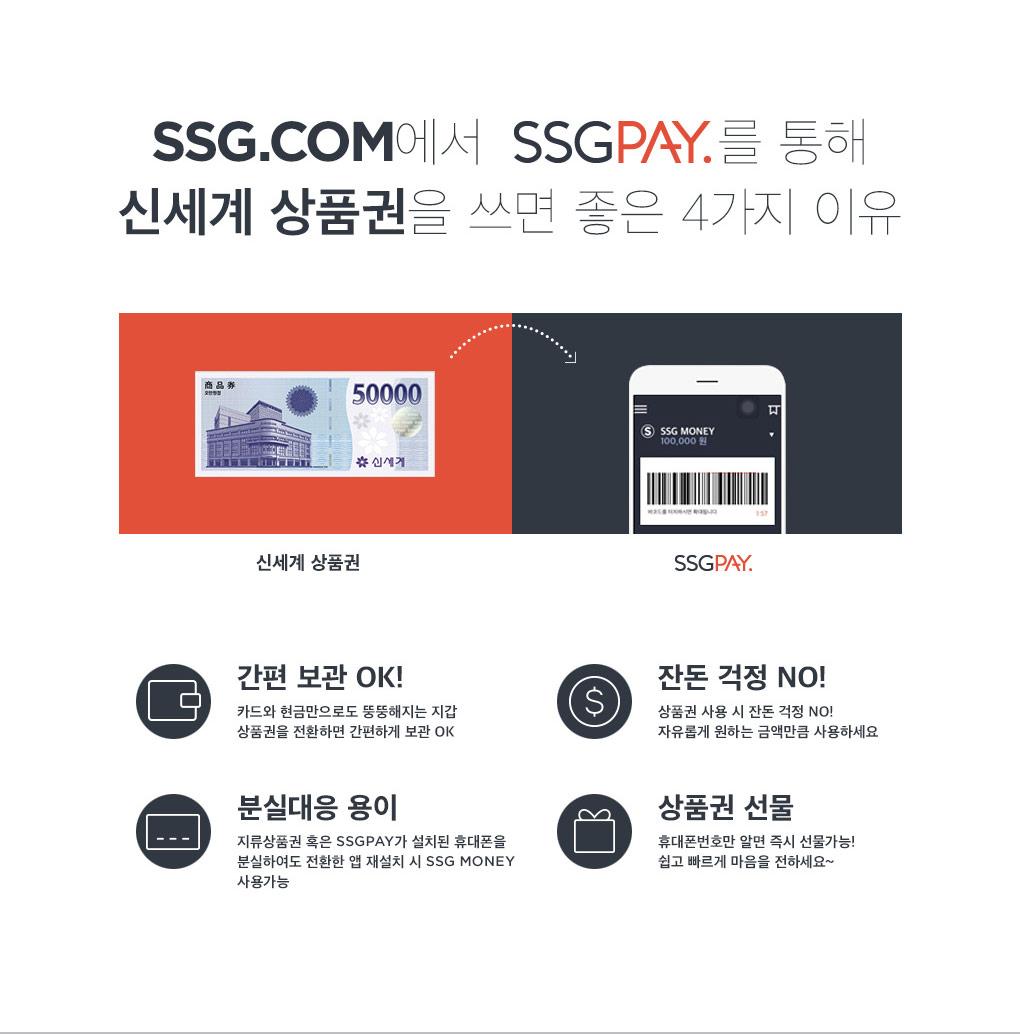 신세계 상품권 SSG PAY