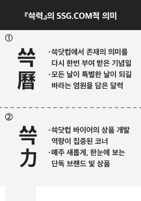 쓱력의 SSG.COM적 의미